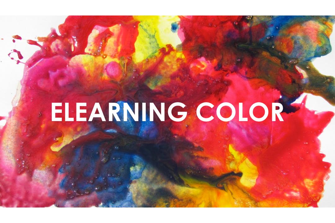 màu sắc trong thiết kế bài giảng elearning