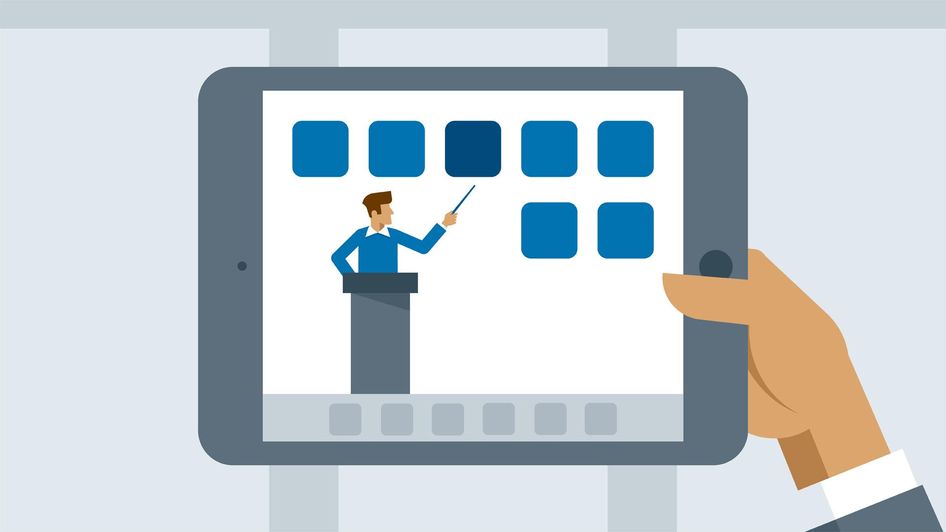 Mách bạn quy trình xây dựng bài giảng trực tuyến E-learning cho doanh nghiệp