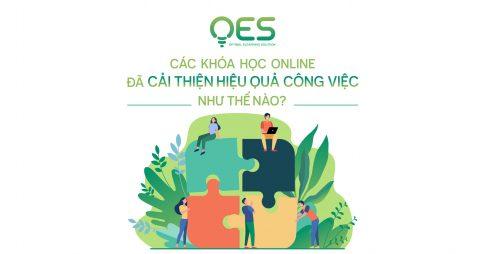 Các khóa học online đã cải thiện hiệu quả công việc như thế nào?