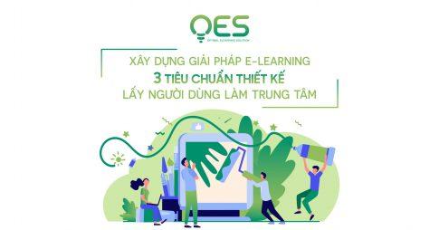 Xây dựng giải pháp E-learning: 3 tiêu chuẩn thiết kế lấy người dùng làm trung tâm